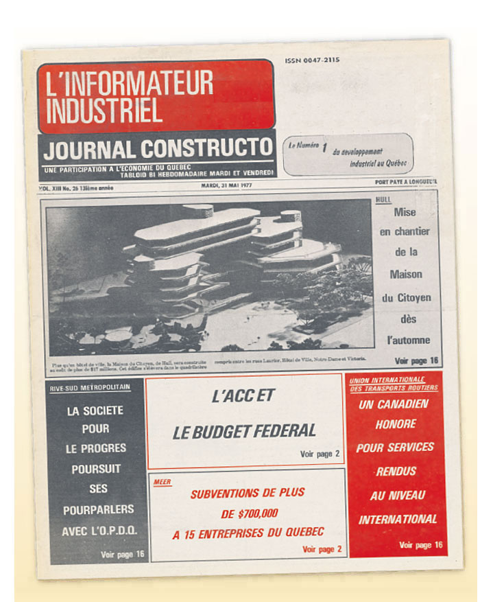 Journal Constructo 1977