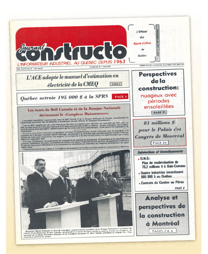 Journal Constructo 1982