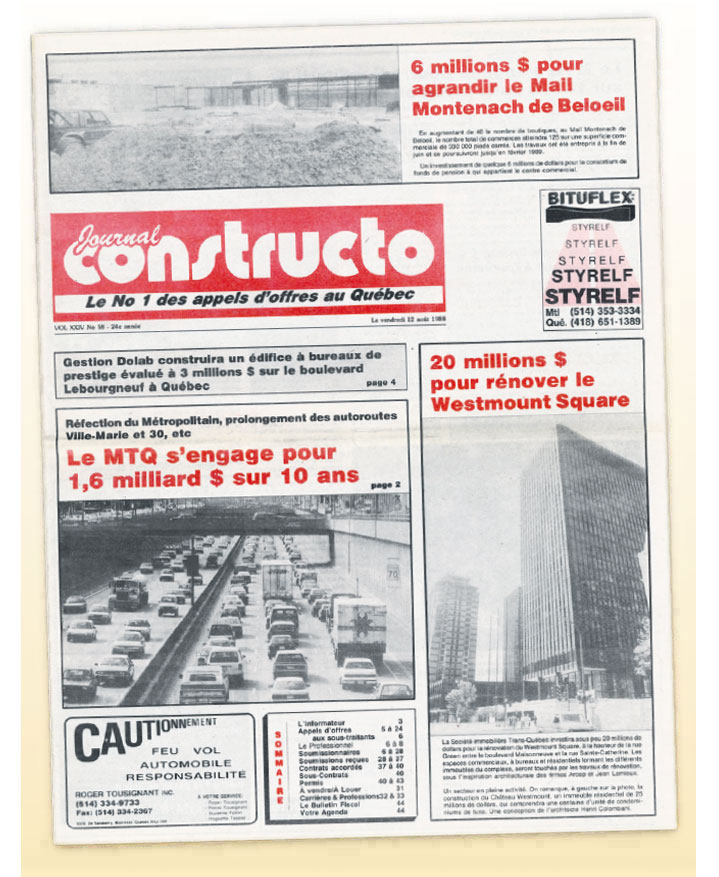 Journal Constructo 1988