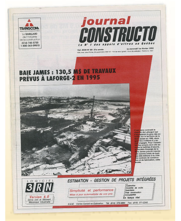 Journal Constructo 1995