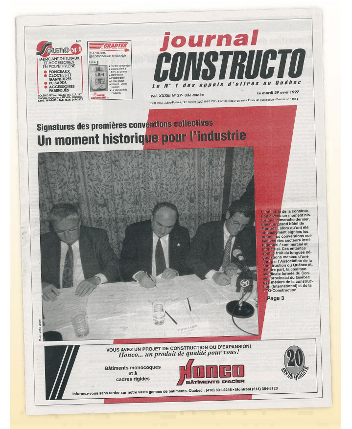 Journal Constructo 1997