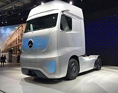 Vue sur le futur - L'équipement lourd de demain - Photo de Daimler