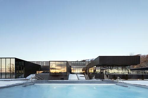 Grand prix du Design 2020 - Strøm spa nordique Vieux-Québec. Crédit : Adrien Williams