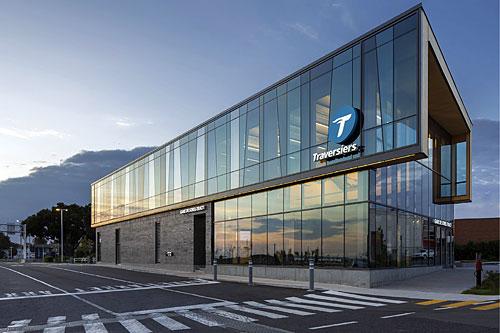 Grand prix du Design 2020 - Gare de Sorel-Tracy. Crédit : Stéphane Groleau