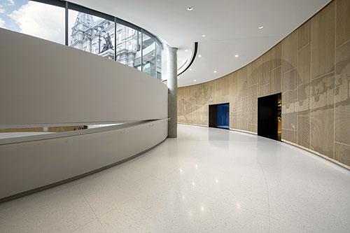 Grand prix du Design 2020 - Pavillon d'accueil de l'Assemblée nationale du Québec. Crédit : Virginie Gosselin
