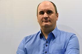 Guillaume Moutier, directeur du Bureau d'architecture de l'Université Laval. Photo de Aurore Moutier