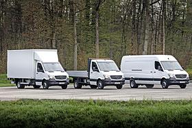 Le Sprinter de Mercedes-Benz est plus polyvalent que l'on pense.  - Photo de MERCEDES-BENZ