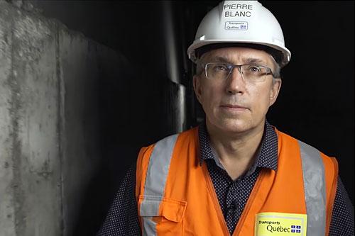 Pierre Blanc, Responsable de la gérance de projet au MTQ. Photo : MTQ