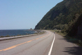 Route 132 à Marsoui en Gaspésie - Photo de *dan* - Flickr - CC BY-NC-SA 2.0