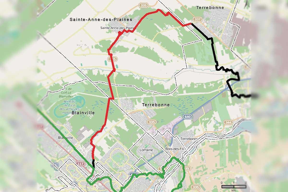 La piste cyclable les Moulins-d'en-Haut devient réalité